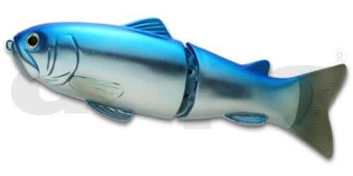 Deps Slide Swimmer 250-Blue Back Silver