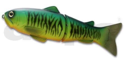 Deps Slide Swimmer 250-Hot Tiger