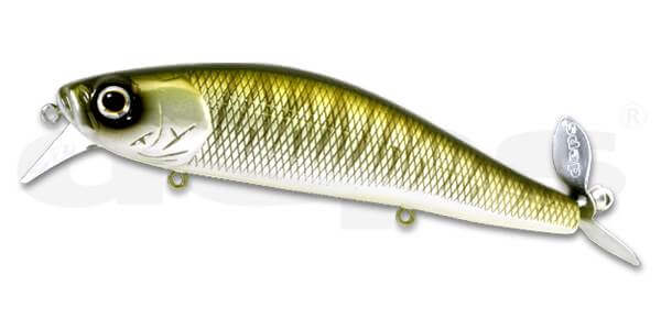 Deps Spiral Minnow-Flash Tiger
