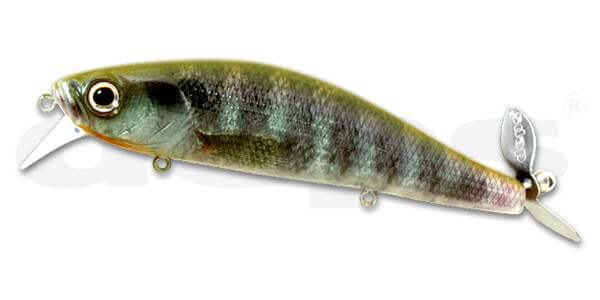 Deps Spiral Minnow-Real Blue Gill