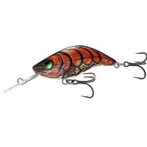 Salmo Sparky Shad-HCD-Holographic Crawdad