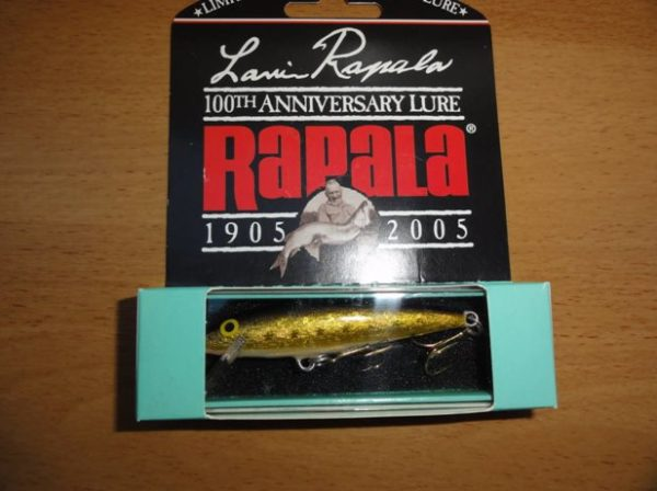 Lauri Rapala 100th Anniversary Limited Edition-color-ARR-Silver Grey