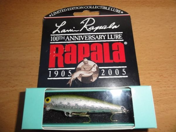Lauri Rapala 100th Anniversary Limited Edition-color-EIR-Silver Olive