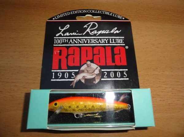 Lauri Rapala 100th Anniversary Limited Edition-color-RIS-Gold Flou Red