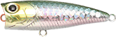 Lucky Craft Bevy Popper color-0739-MS Japan Shad
