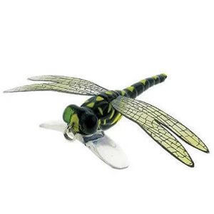 Lure River 2 Sea Dragonfly Popper Color Black Yellow Spot
