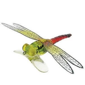 Lure River 2 Sea Dragonfly Popper Color Transparent Green Red