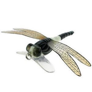 Lure River 2 Sea Dragonfly Popper Color White Black