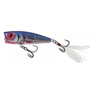 Wobbler Salmo Rattlin Pop Color Clear Blue Shiner