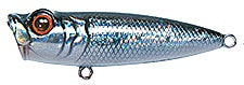 Topwater Lure Owner Cultiva Gobo Popper Color Black Pearl-02