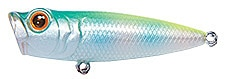 Topwater Lure Owner Cultiva Gobo Popper Color Green Chartreuse Back-34