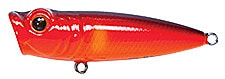 Topwater Lure Owner Cultiva Gobo Popper Color Red Shiner-56