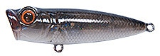 Topwater Lure Owner Cultiva Gobo Popper Color Smoke-49