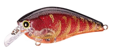 Lucky Craft LC Silent Squarebill Color CF Flake Flake Rayburn Red Craw-281