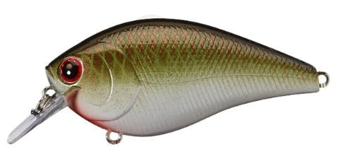 Lucky Craft LC Silent Squarebill Color Copper Green Shad-402