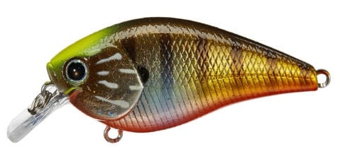 Lucky Craft LC Silent Squarebill Color Flake Flake Kabuki Gill-175