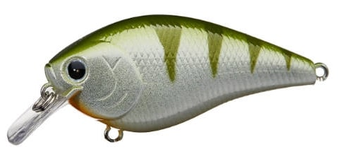 Lucky Craft LC Silent Squarebill Color Green Perch-888