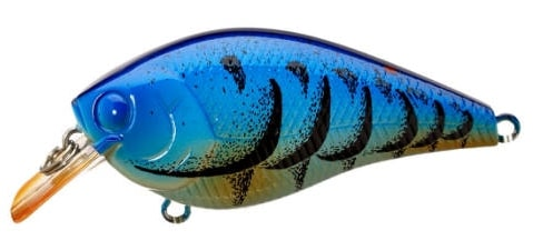 Lucky Craft LC Silent Squarebill Color Magic Blue Craw-349