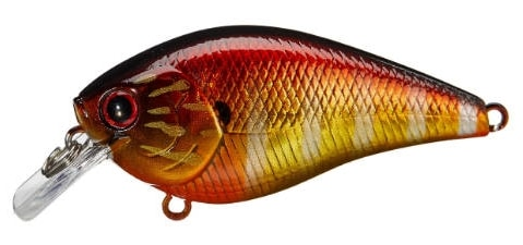 Lucky Craft LC Silent Squarebill Color Magma Heat Up Gill-301