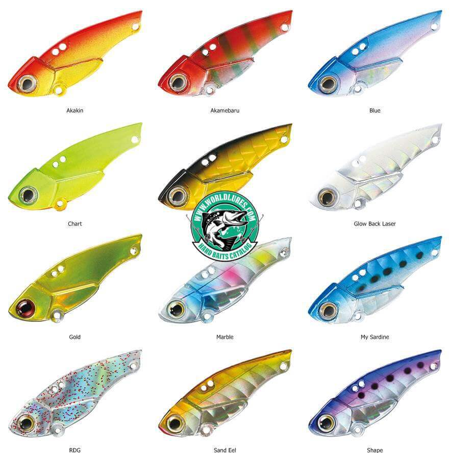 Japan lure Smith Sea Bullet colors