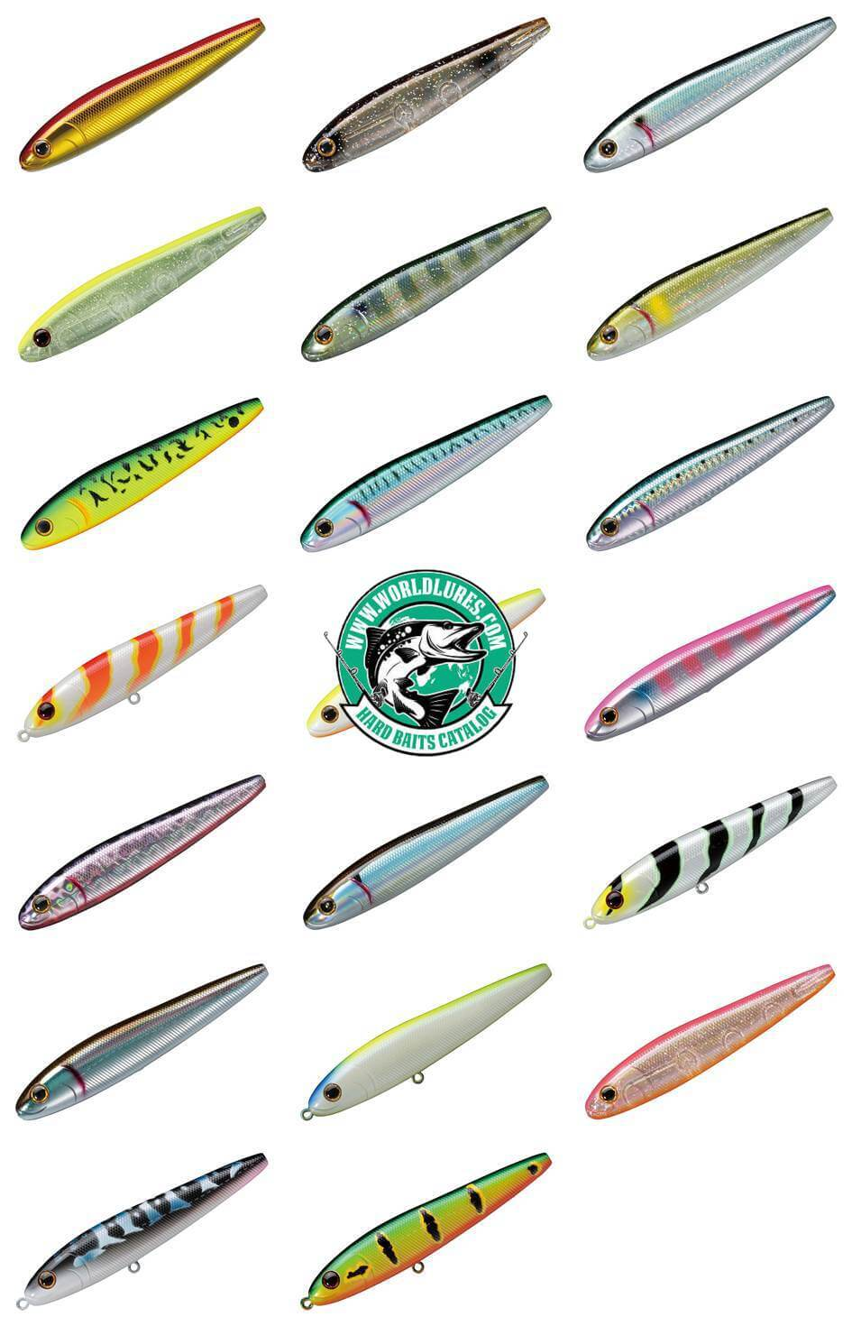 Japan lure Smith Vaprax all colors