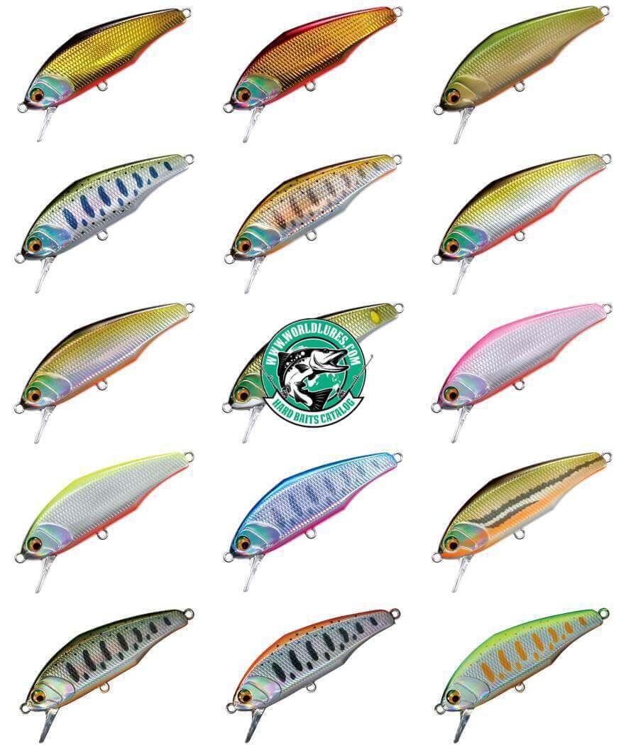 Trout lure Smith D-Incite colors