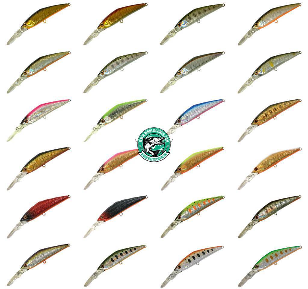 japan lure Smith D-Direct colors