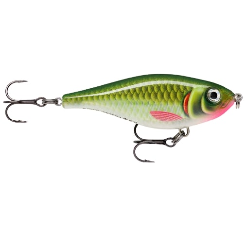 New 2020 Rapala X Rap Twitchin Shad Olive Ghost-OGH