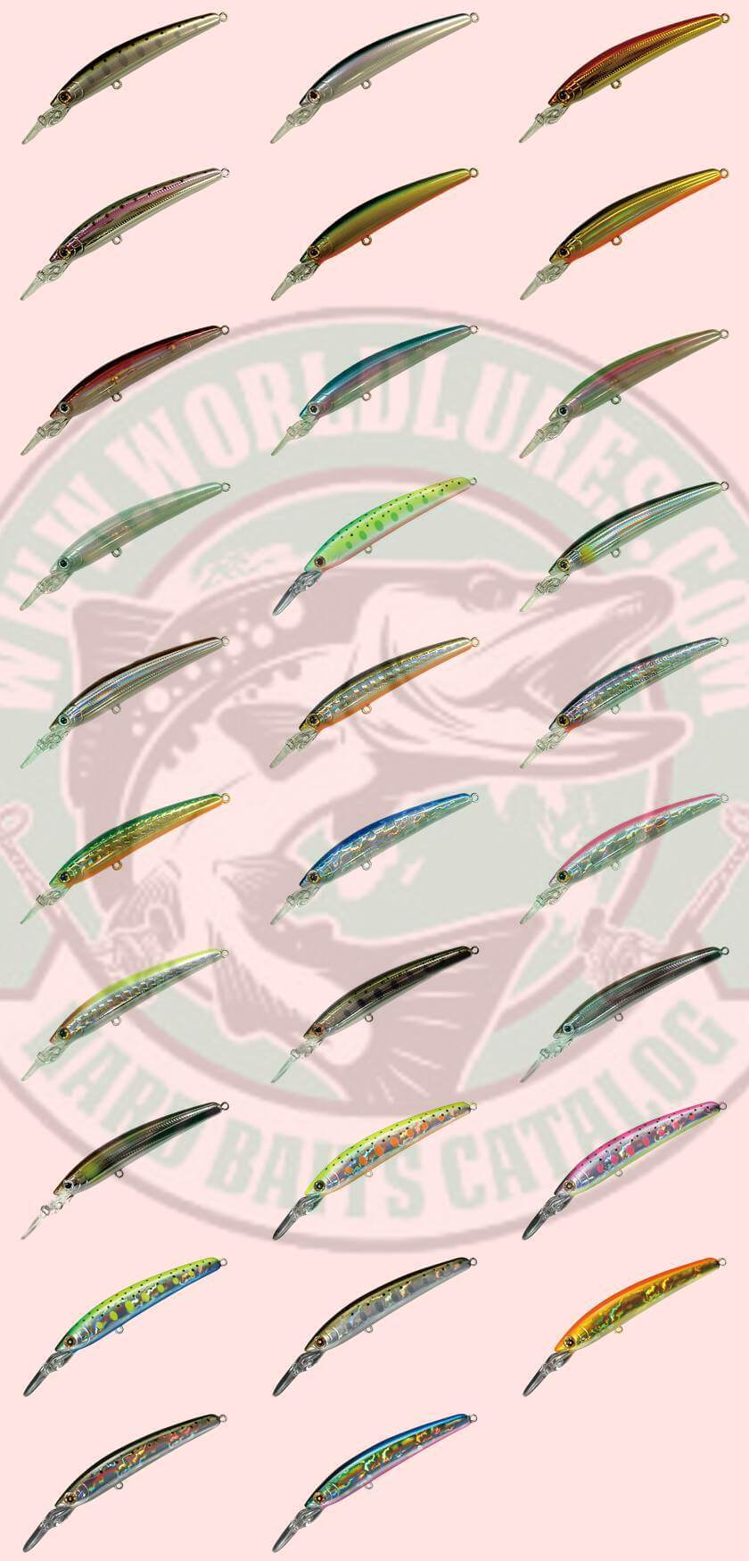 Lure Smith DD Panish all colors